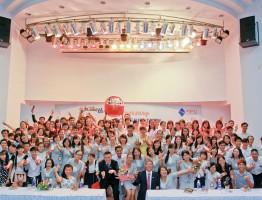 kỉ niệm 5 năm thành lập công ty VPBO